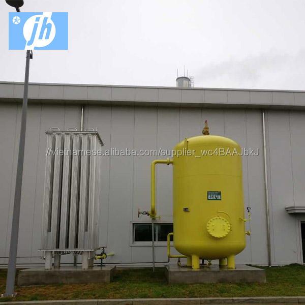 Không Khí hóa lỏng Tách Nhà Máy với Độ Tinh Khiết 99.6% Oxy & 99.999% Nitơ