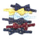 Custom Made Polyester Woven Logo Bow Ties Mens Bowties
