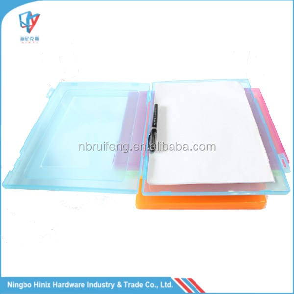 A4 Size Plastic File Folder