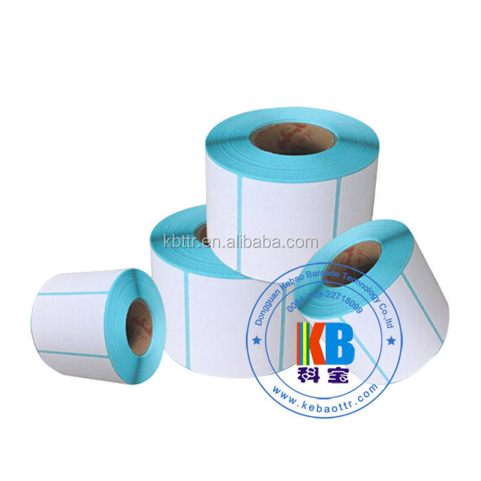 waterproof direct thermal printing paper chrome coated adhesive label