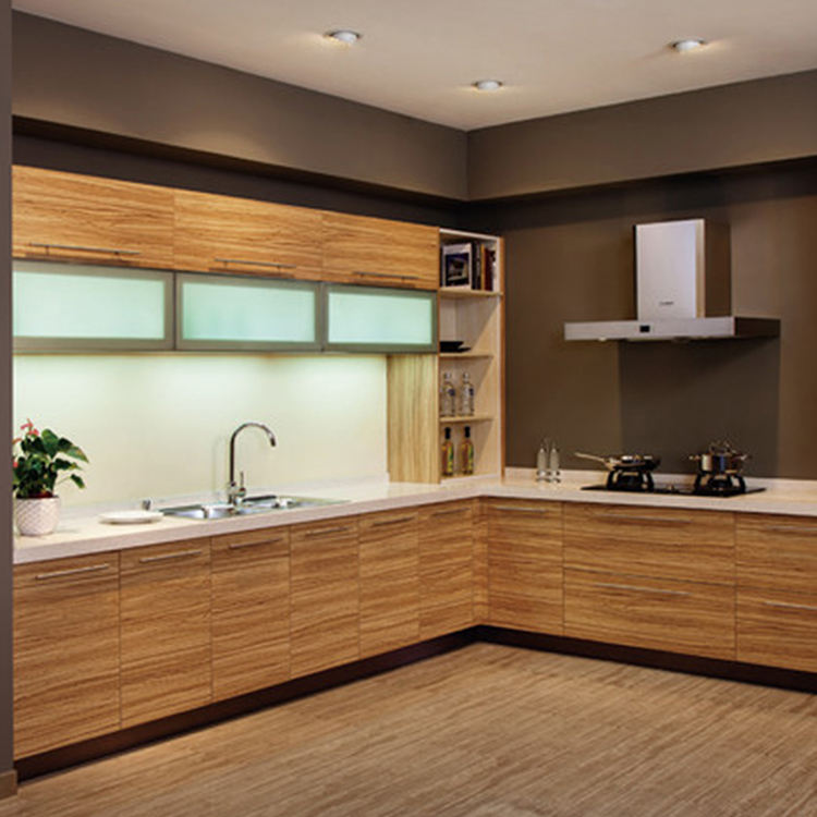 Australian style high end knock down kitchen cabinets modern kitchen cabinet Solid wood kitchen cabinet