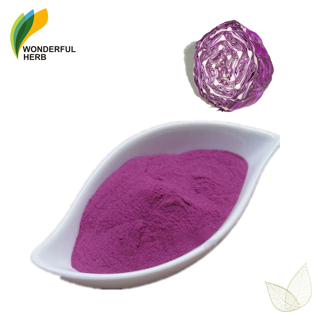 100% organci natural purple kale extract fruit juice powder red cabbage pigment