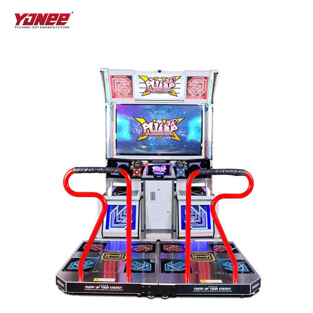 2019 Korea Leisure Coin Operated game Pump It Up dance machine