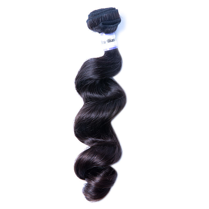 wholesale Soft and smooth 8a grade mink 100% unprocessed virgin human brazilian hair mink virgin hair lose wave