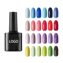 Best price 8ML Private Label 120 Candy Pure Colors UV Soak Off Nail Gel Polish
