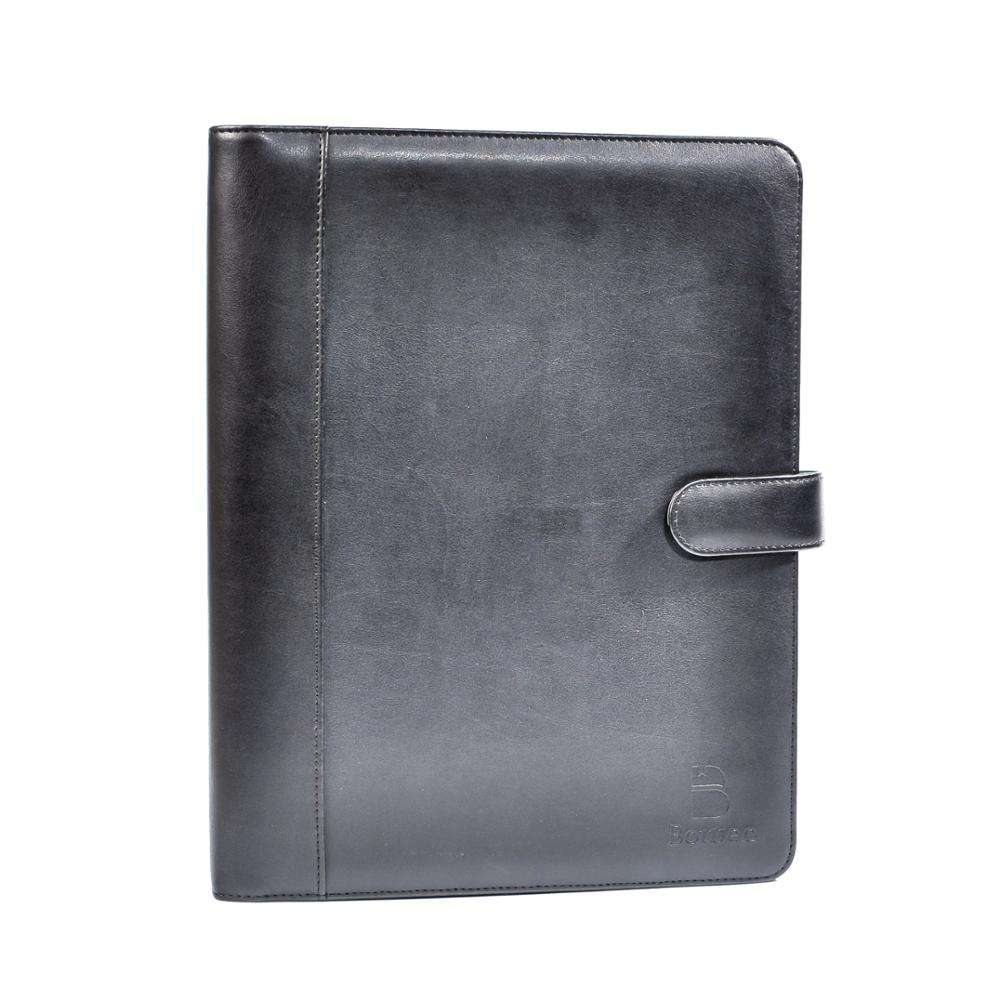 TAOYUAN&BOWEN leather wholesale 3 ring binders / a5 ring binder with customized logo