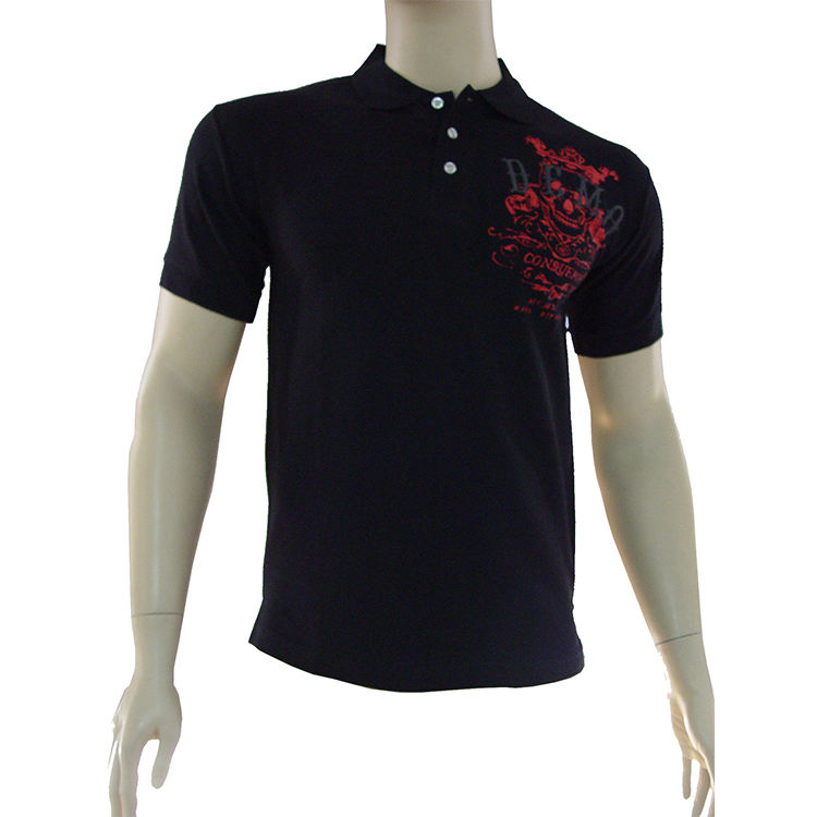 Latest products fashion promotional cheaper blue polo t shirt
