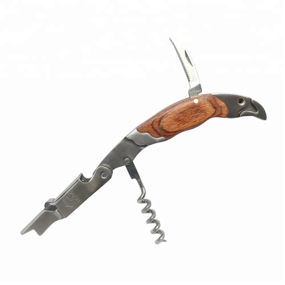 High Quality Professional Waiters Corkscrew with wooden handle