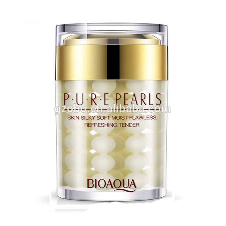 OEM bioaqua pure pearl whitening moisturizing sleeping cream lightening smoothing sleep mask