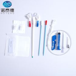 Medical FDA approval double lumen hemodialysis catheter kit
