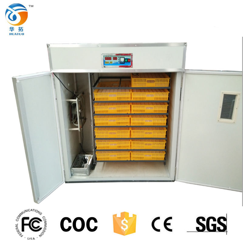 Hot Selling Automatic 1232 Egg Incubator made in turkey for sale
