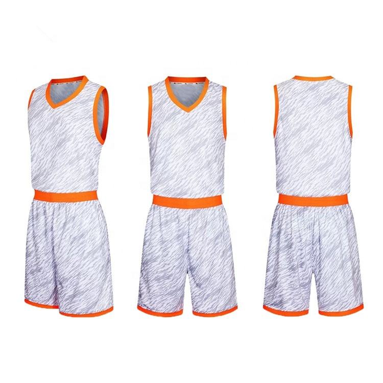 Manufacturer New Design Dye Sublimation Printing Basketball Uniform Customized Basketball Jersey Sets
