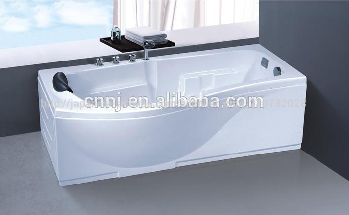 (3066)サニタリーバス1人深いスパ浴槽お風呂の中を歩く