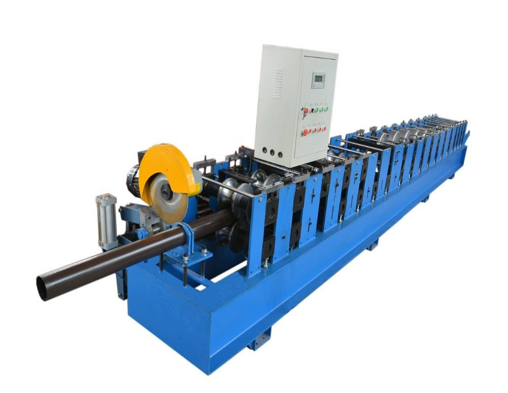 aluminum downpipe square gutter roll forming machine
