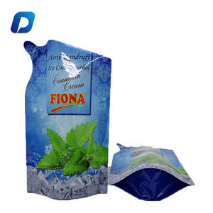 Colorful Packaging Limited customized logo liquid packing bags stand up shape packaging pouches with false spout