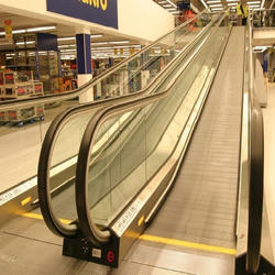 Flat Escalator Ramp Double-Arc Inclined Moving Walkway
