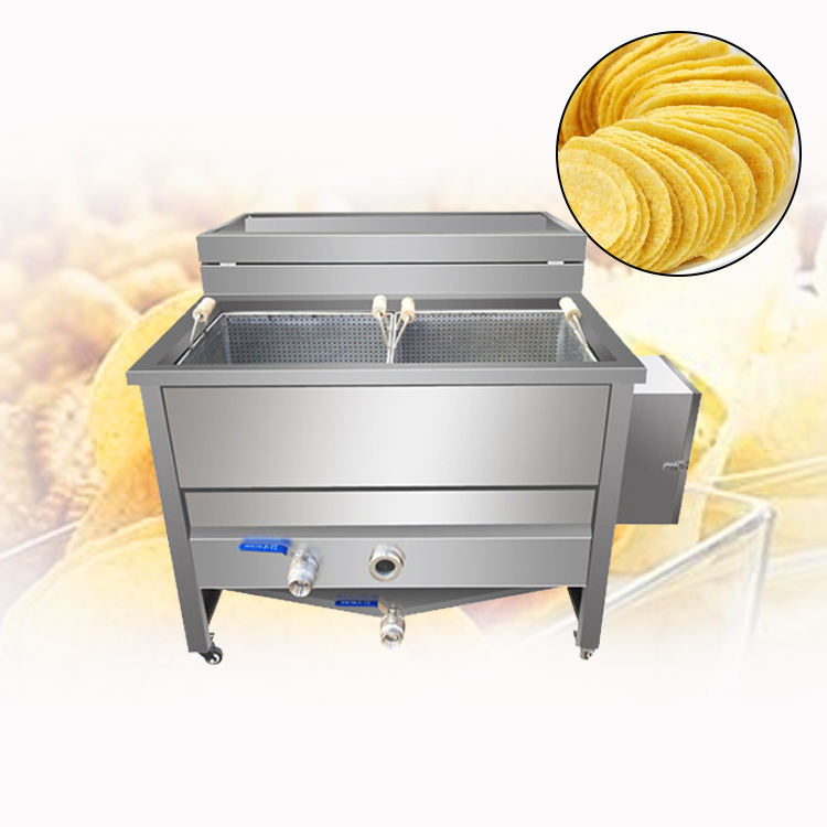 High quality potato chips frying machine french fries machine french fries
