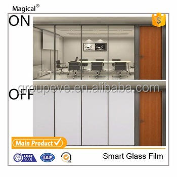Low Voltage Privacy Glass 3M LCD Protective Smart Film