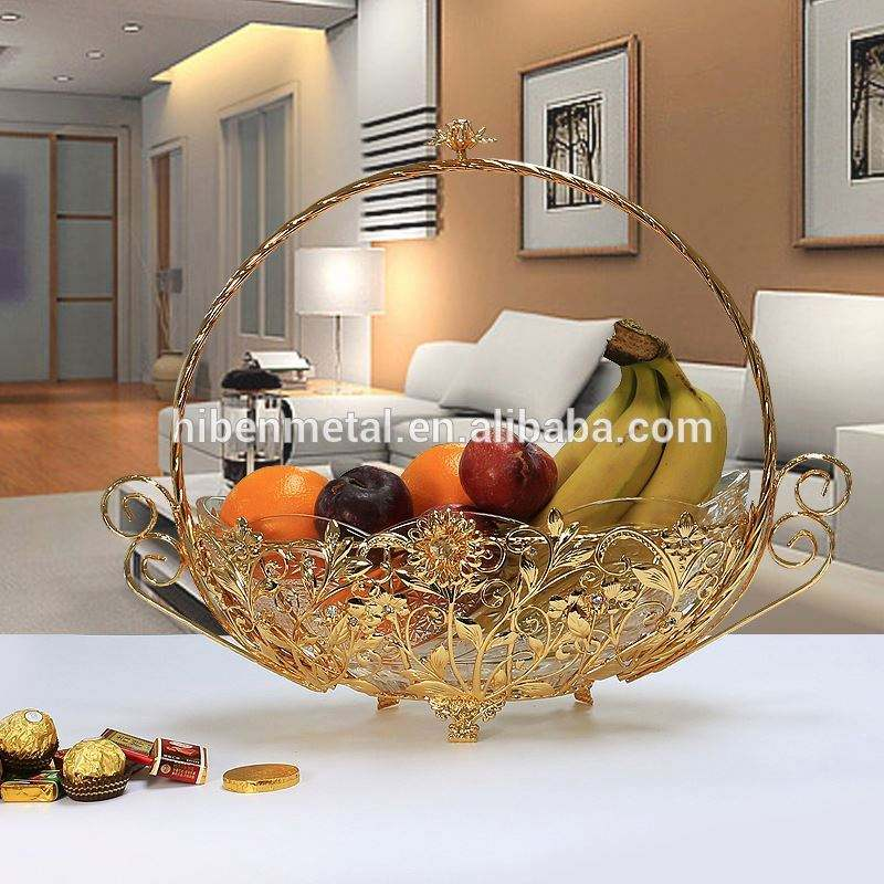 LED Motif Cermin Bulat Decorative Tray Cadeau Ramadan