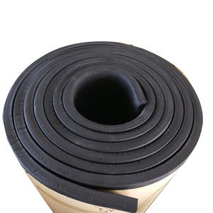 self adhesive neoprene rubber foam for aircondition insulation