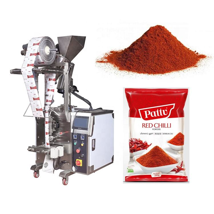 Low cost high quality automatic small pouch powder packing machine