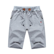 Amazon Quality 2020 Summer Men Knitted Sweatpants Cotton Leisure Shorts