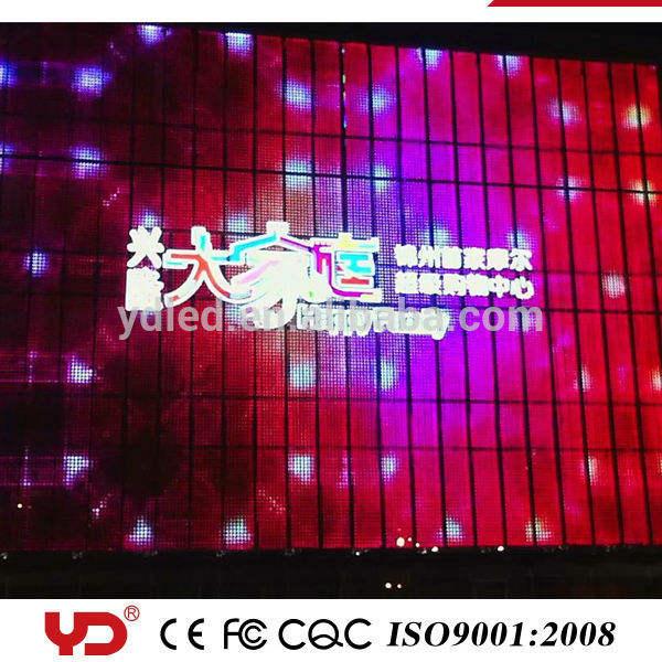 YD 2nd ip68 resistente al agua grande al aire libre smd led de visualización pantallas led letras corporeas leds