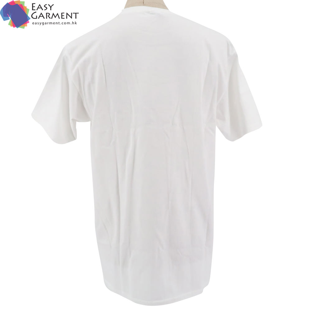 Custom Logo sportswear 3D Embroidery linen short sleeve breathable white tshirt for running