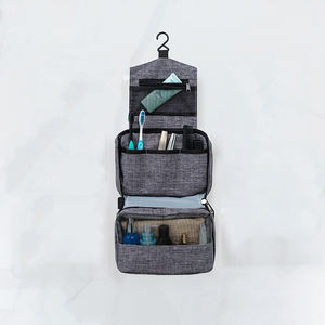 Hanging organizer waterproof travel personal care stuff handle toiletry bag