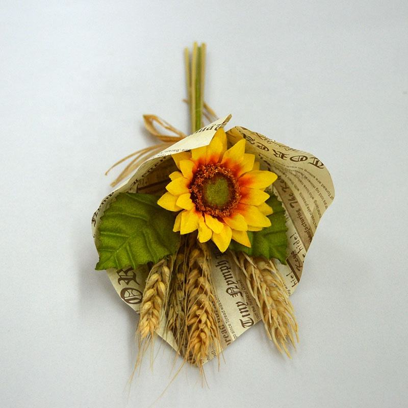 artificial sunflower bouquet for decoration