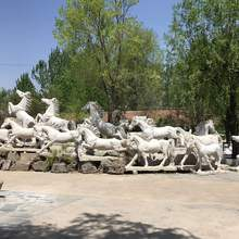 outdoor home garden large horse statues good price