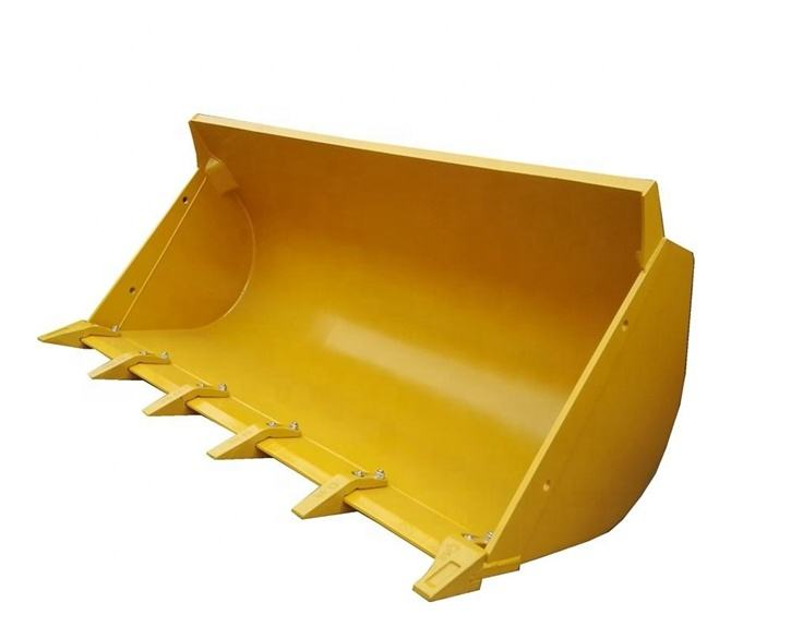 252110032 252117315 XCMG ZL50G front end wheel loader parts 3 cubic meter rock stone bucket