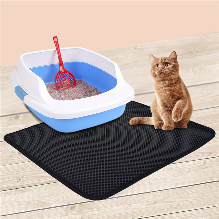 Waterproof Light Weight Double Layer Cat Litter Trapper Mat