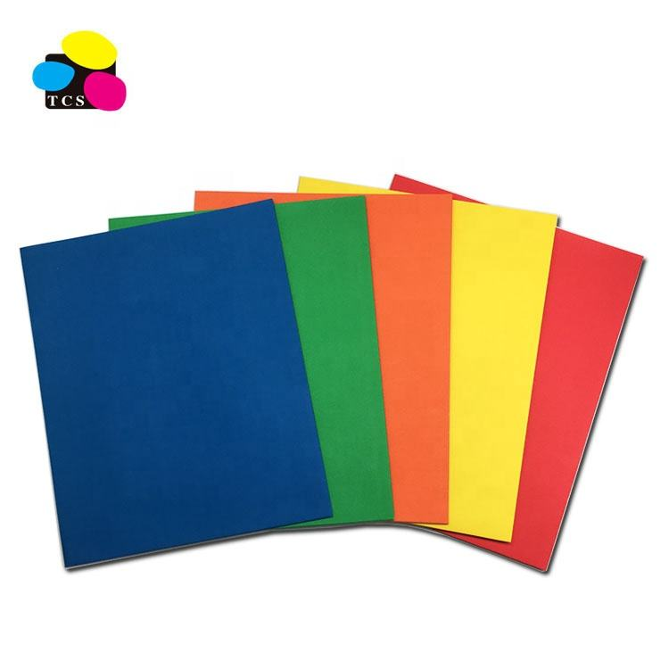 Blue Alibaba 2-Pocket, File Folders Fashion Colors New Product No Prong