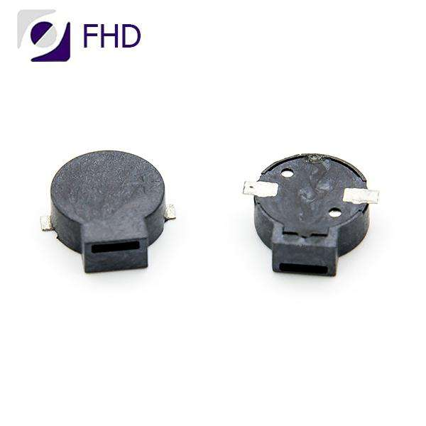 9mm louder sound mini magnetic buzzer smd with branding material 3v buzzer