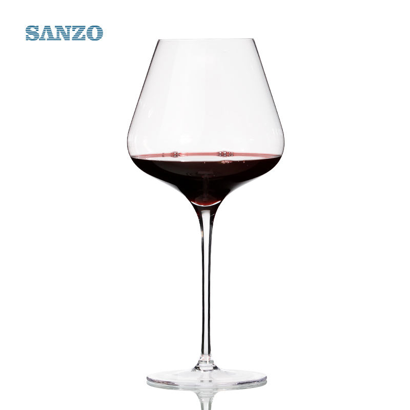 900252 clear crystal pulls the burgundy red wine glass 750ml