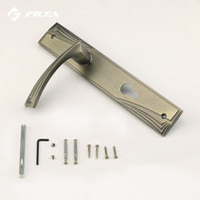 Matt antique brass modern door accessories construction hardware door locks handle