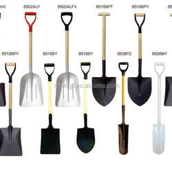China pala S503-4PD d gripe wood handle shovel with handle manufacturer