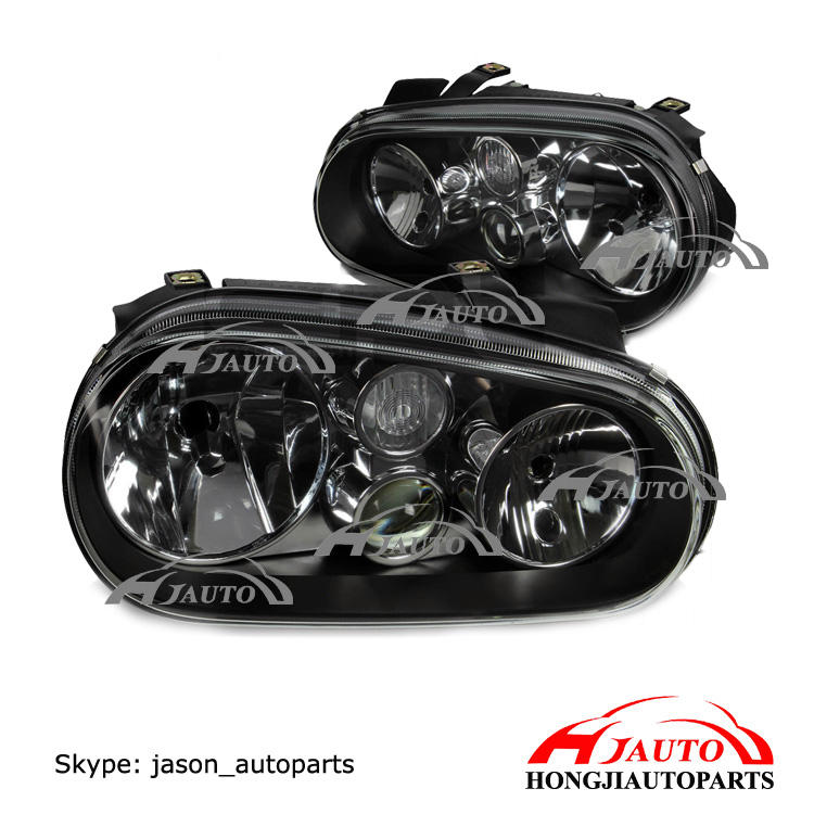 Head lamp light For Volkswagen Golf 4 1J1941018K/1J1941017K