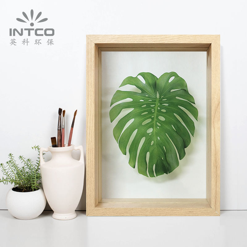 INTCO YZ003 SC Wholesale Hot Selling Eco-Friendly Fashionable Modern MDF Wood Box Picture Photo Frame