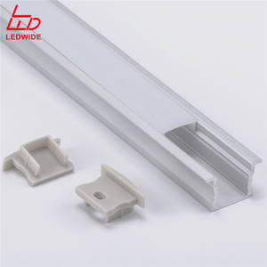 Shoe shelf linear lighting led profile led aluminum profile for linear light recessed led channel