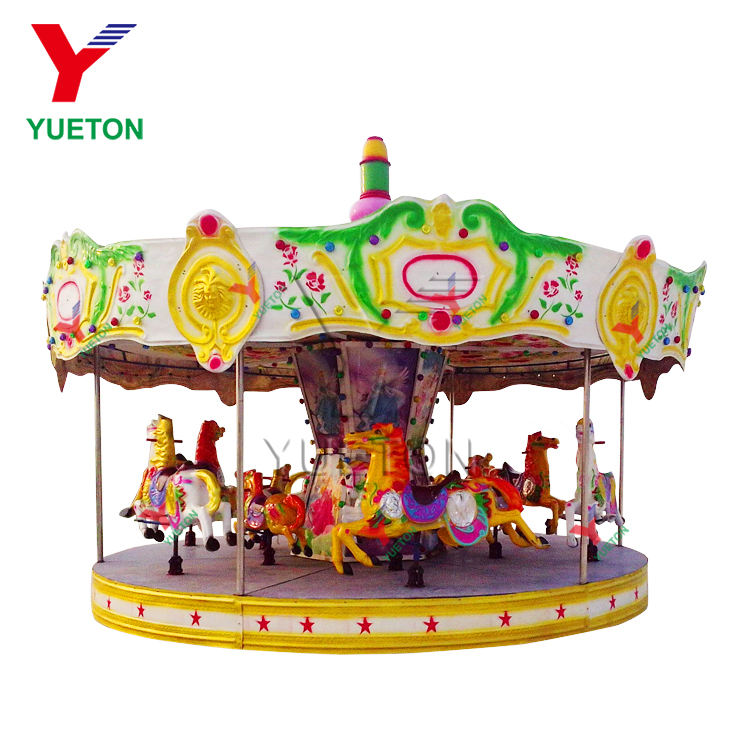 High Quality Amusement Theme Park Rides Children Carousel Horses