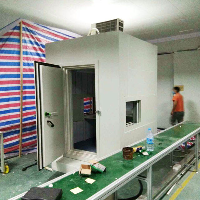 acoustic chambers room production line cabinet soundproof room