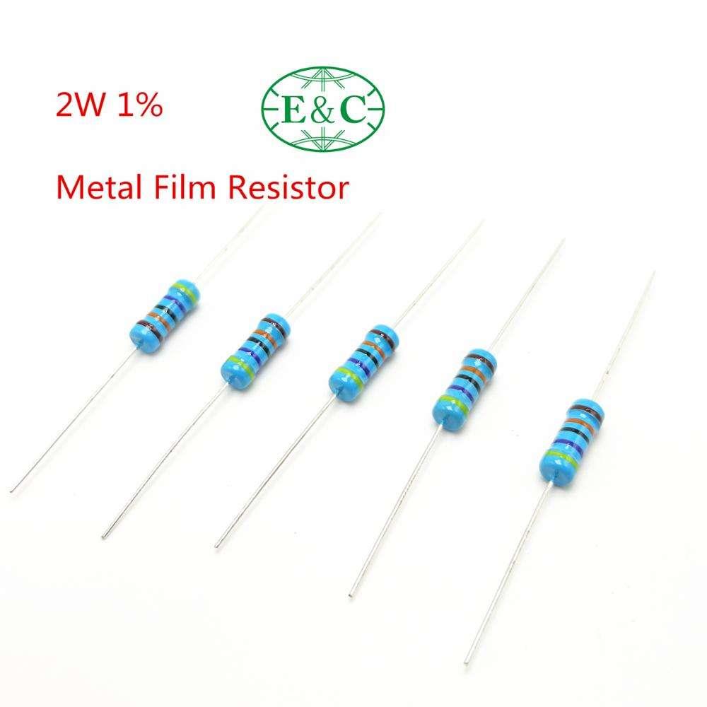 200PCS 10 ohm 1//2W Metal Film Resistor //-1/% 0.5W 10R