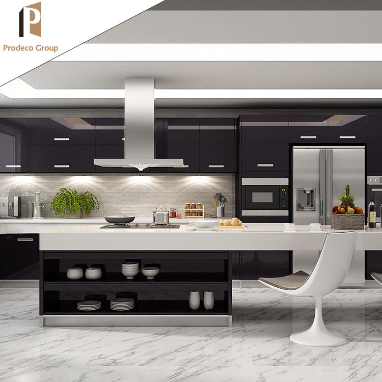 Customized Furniture Modern High-End Kitchen Unit