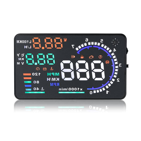 433.92MHz head up display hud obd2 car+alarms head up display navigation