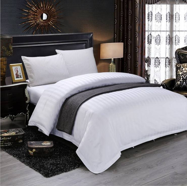 Simple And Opulence 100% Cotton Washed Basic Style Solid Hotel Duvet Cover Set