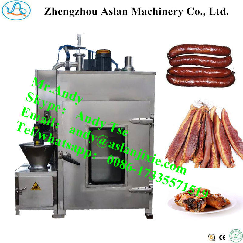 Bacon smoked furnace/meat sausage baking machine/sausage smoking machine