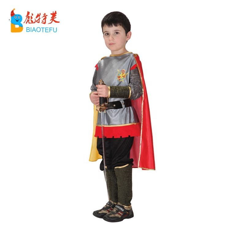 Roman soldier warrior cosplay costumes for kids