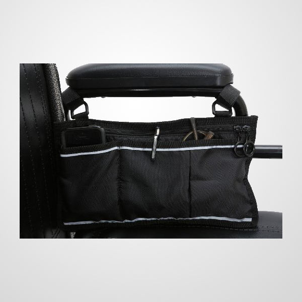 Great Accessory For Your Mobility Devices Wheelchair Side Bag